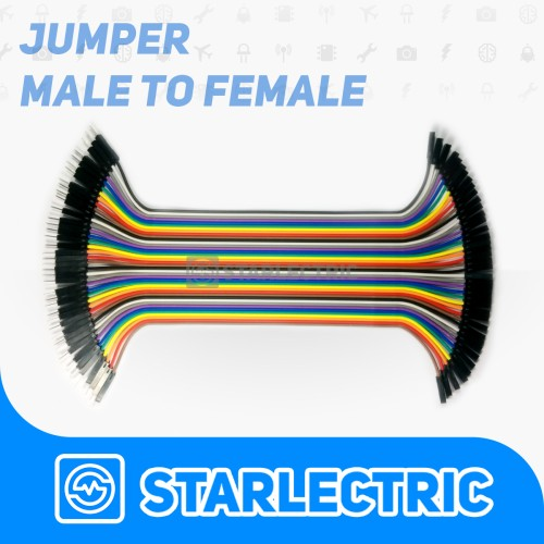 Foto Produk Male to Female Kabel Jumper dari Starlectric