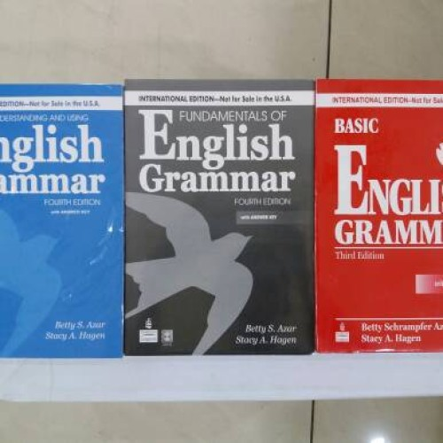 Foto Produk ENGLISH GRAMMAR paket 3 buku ( BETTY SCHRAMPFER AZAR ) dari rheny book store