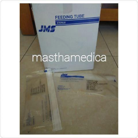 Foto Produk Selang NGT Feeding Tube Sonde Selang Makan Silicone Silikon JMS dari Mastha Medica Jakarta