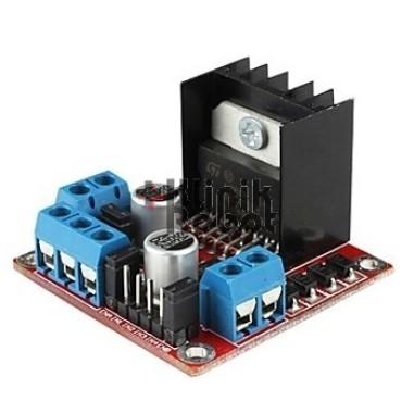 Foto Produk L298N Driver Motor (2A Maximum) Kontrol 2 Motor Sekaligus dari KlinikRobot