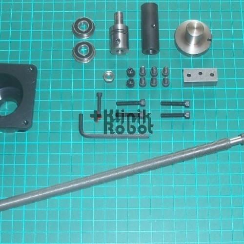 Foto Produk Sherline Part Precision Screw for CNC + Bracket + Coupling for NEMA23 dari KlinikRobot