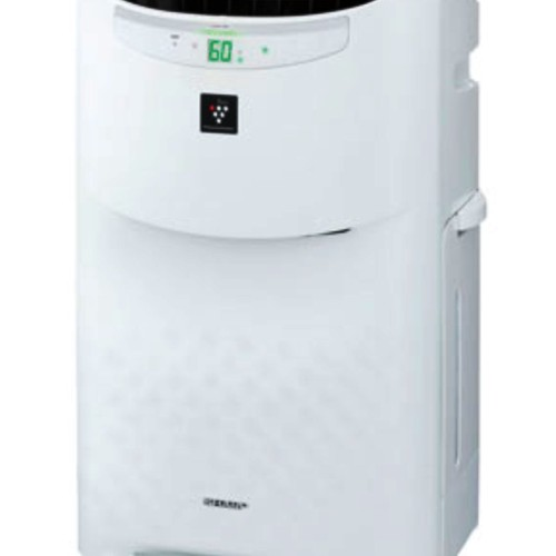Foto Produk Sharp KI-A60Y-W - Putih, Air Purifier with Humidifying Series dari Sukses Makmur Elektronik