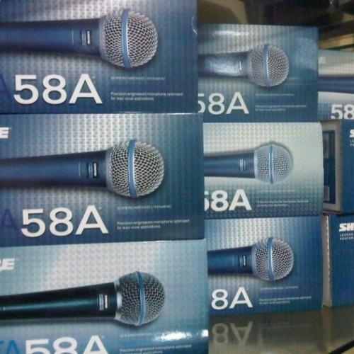 Foto Produk Mic Shure Beta58a Beta 58a Vokal Kabel KW1 dari dwi electronic