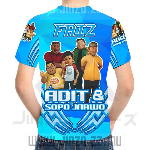 Foto Produk Kaos Anak Adit dan Sopo Jarwo 1 Biru dari Jinzo Series
