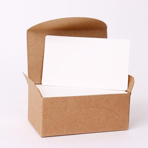 Foto Produk Blank Kraft Paper Card Set / Memo / Notes dari ShisShisShis