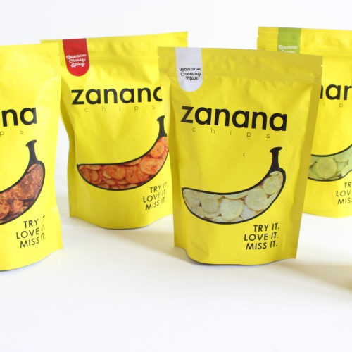 Foto Produk Zanana Chips (Keripik Pisang) - Creamy Milk dari The Little Snacks