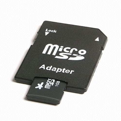 Foto Produk Micro SD Card to SD CARD Adapter Converter MICROSD SDCARD VGEN adapter dari lbagstore