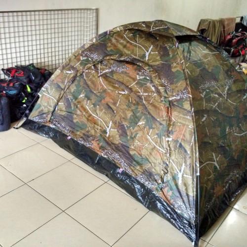 Foto Produk tenda dome ultralight kap 2-3 orang loreng berat 1,4kg dari dpeakoutdoor