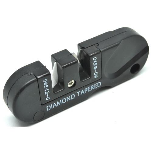 Foto Produk Pengasah Pisau Multifunction Outdoor Portable Knife Sharpener dari BudgetGadget