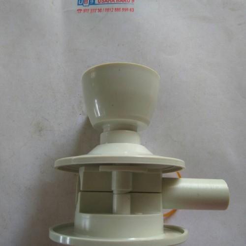 Foto Produk Tutup Lubang Kunci Pintu Kamar Mandi PVC + Grendel dari Usaha baru9