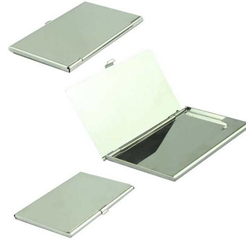 Foto Produk Card Holder Tempat Kartu Nama Stainless Model Cermin dari Soho