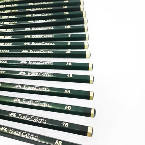 Foto Produk Faber Castell 9000 Graphite Pencils dari eLs_shop