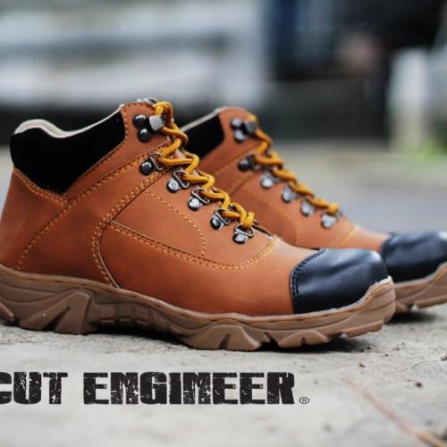 Foto Produk Sepatu Pria Cut Engineer Safety Boots Great Brown Leather dari Cut Engineer
