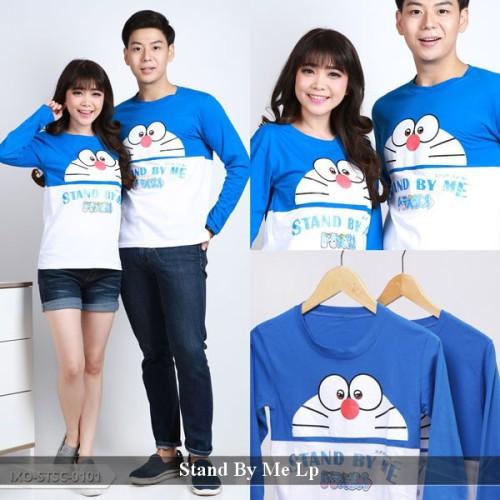 Foto Produk Jual kaos Doraemon | Kaos Pasangan | Kaos Lengan Panjang Pasangan dari koleksi baju couple