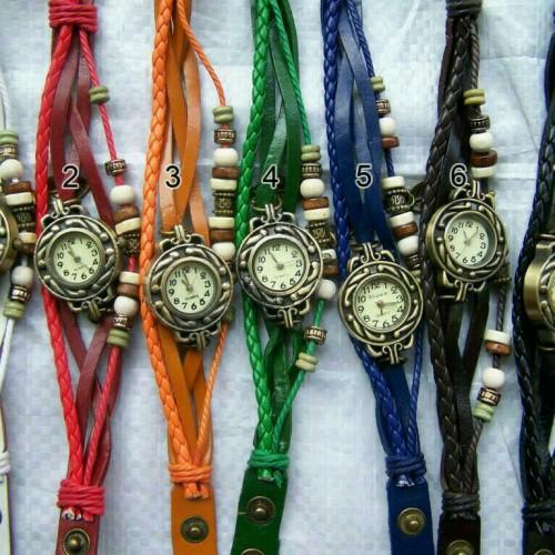 Foto Produk Jam Tangan Tali Gelang Tribal Vintage Etnik dari KelapKelip Acc
