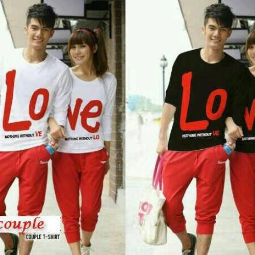 Foto Produk Baju Couple Love Nothing LP dari BEST COUPLE