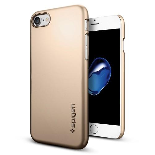 Foto Produk Spigen iPhone 7 Case Thin Fit - Champagne Gold dari Spigen Indonesia