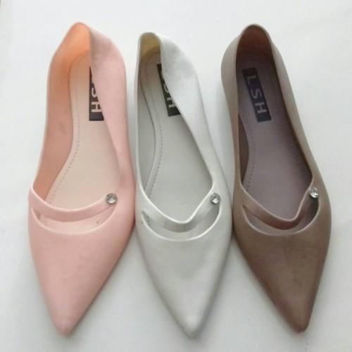 Foto Produk Jelly Shoes Flat Lancip dari Syafa Shop