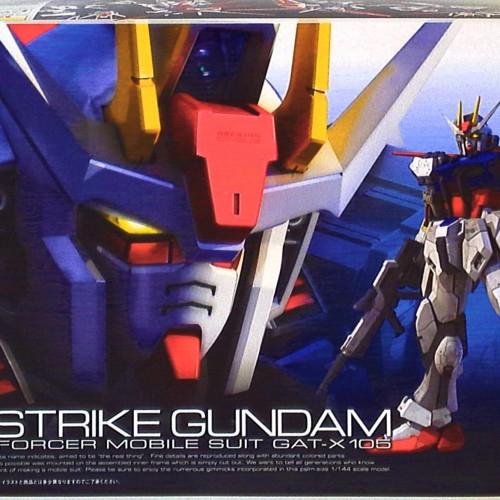 Foto Produk RG Aile Strike Gundam dari Hobby Japan