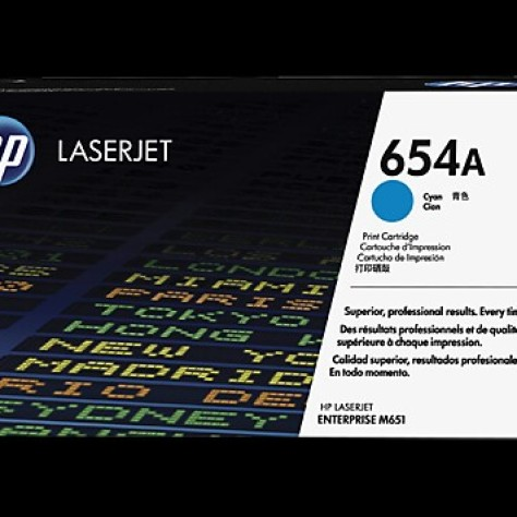 Foto Produk TONER HP 654 A CYAN LASERJET CARTRIDGE CF 331 A dari Moch_AlkaitsulStationery