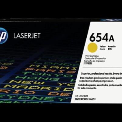 Foto Produk TONER HP 654 A YELLOW LASERJET CARTRIDGE CF 332 A dari Moch_AlkaitsulStationery