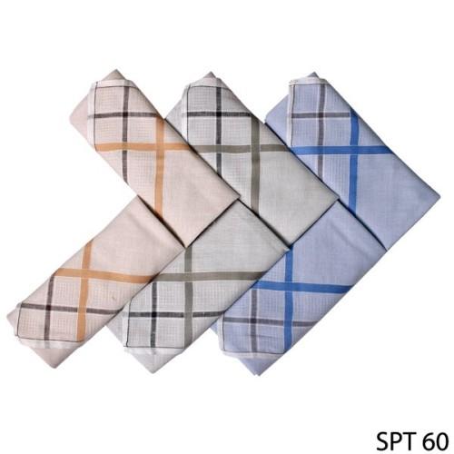 Foto Produk Sapu Tangan Pria Katun Isi 6Pcs Katun Multi Color SPT 60 dari Gudang Fashion