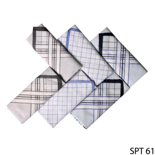 Foto Produk Sapu Tangan Cantik Isi 6Pcs Katun Multi Color SPT 61 dari Gudang Fashion