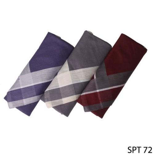 Foto Produk Sapu Tangan Pria Katun Isi 3Pcs Katun Multi Color SPT 72 dari Gudang Fashion