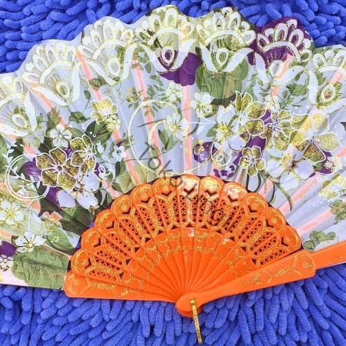 Foto Produk Kipas tangan Satin motif batik dari tokolingli