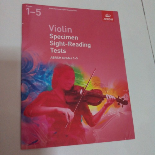 Foto Produk Buku violin Sight reading test gr.1-5 dari Kreisler Shop