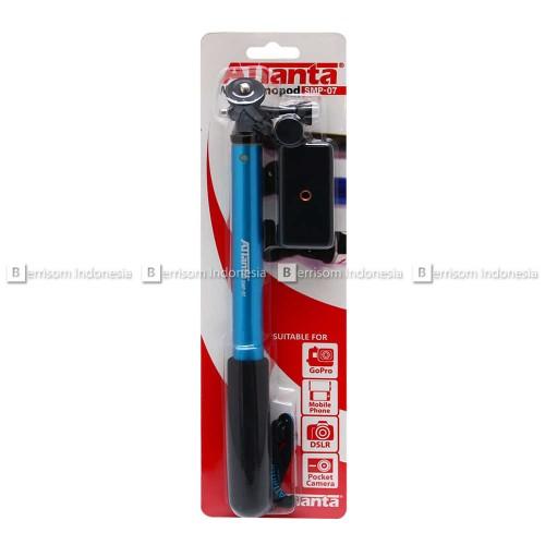 Foto Produk Tongsis Attanta SMP-07 - Biru (GoPro,SJCAM,XiaomiYi,DSLR,Smartphone) dari Berrisom Indonesia