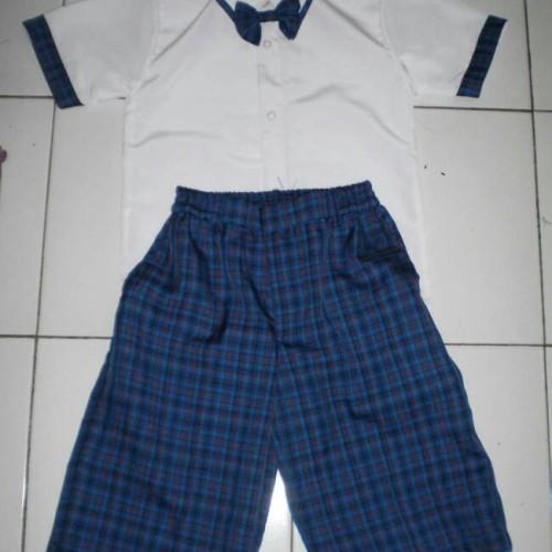 Foto Produk Baju seragam anak tk laki-laki dari UD.APRIL
