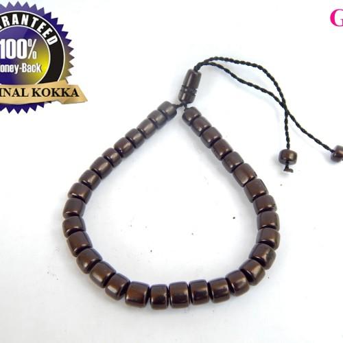 Foto Produk G8235 gelang kayu kokka warna hitam / kokkah / koka / kokah - Hitam dari Bungas Gemstone