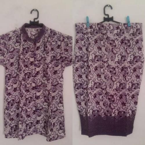 Foto Produk Setelan Batik Sarimbit Ungu dari WiYuWi WatchZone