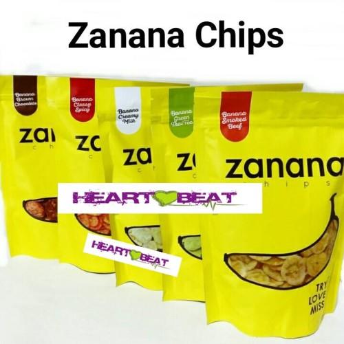 Foto Produk Zanana Chips Keripik Pisang dari HEARTBEAT SNACK BANDUNG