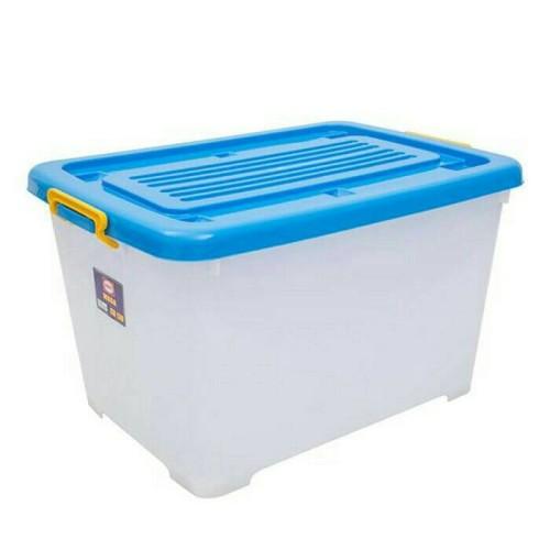 Foto Produk Shinpo Kontainer Box Plastik 130 liter (by Gojek) dari miraclestar