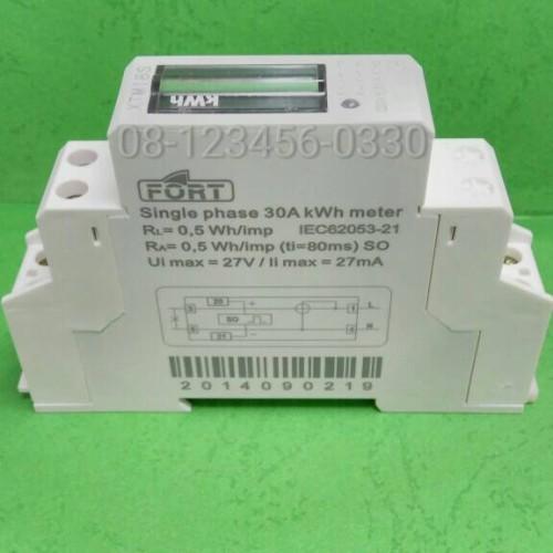 Foto Produk kwh meter 1 phase fase fasa analog fort xtm18s model mcb dari SURYA-ELEKTRIK