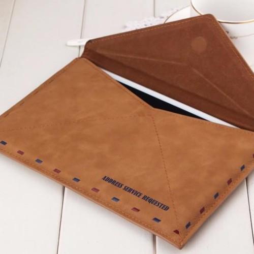 Foto Produk S7 edge envelope Vintage Retro flip cover pouch Leather samsung galaxy dari acosonic