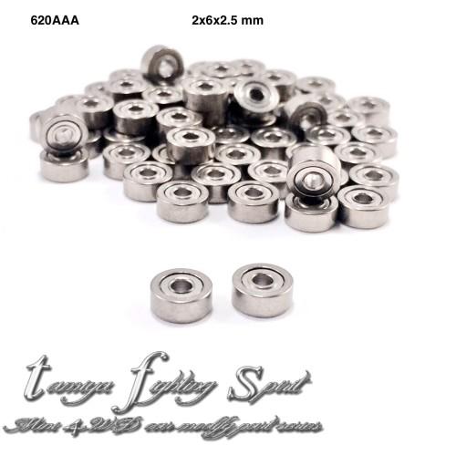 Foto Produk Rep Tamiya Bearing 2x6x2.5mm / Bearing Roda 620 AAA 4pcs/pack (BE26) dari tamiya fighting spirit