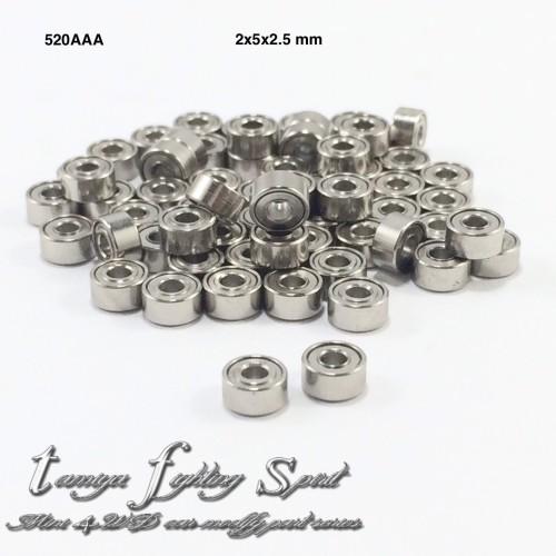 Foto Produk Rep Tamiya Bearing 2x5x2.5mm / Bearing Roller 520 AAA 4pcs/pack (BE23) dari tamiya fighting spirit