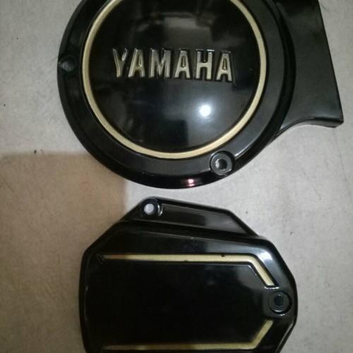 Foto Produk tutup bak kopling dan magnit rx king dari maju motor one