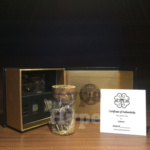 Foto Produk Premium Clone RDA Dotmod Petri V3 Superb Quality 22mm Limited Version dari Vype Hype