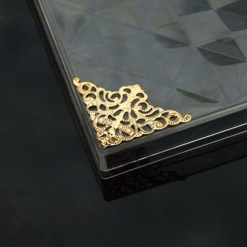 Foto Produk Hiasan sudut / Hiasan Siku box Hantaran Seserahan Scrapbook MC201 dari laris shops