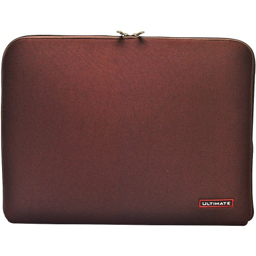 Foto Produk Tas Laptop Classic / Softcase / Laptop Sleeve Ultimate BROWN dari Galaxy Gemilang