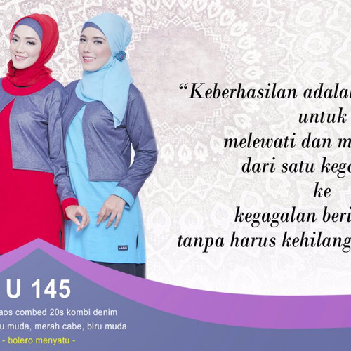 Foto Produk Ukhti Tunik U 145 dari Shabrina Shoppe