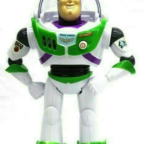 Foto Produk Mainan Anak Toy Story 4 Buzz Lightyear Light Year Robot Jalan dari Toko DnD