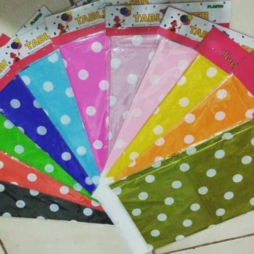 Foto Produk Taplak Meja / Table Cover Motif Polkadot dari Reaw Store