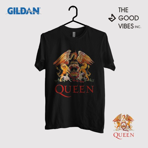 Foto Produk Kaos Band Queen Original Gildan - Logo dari Good Vibes Inc