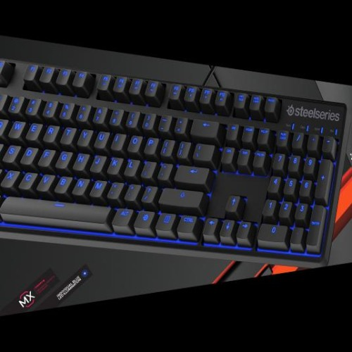 Foto Produk Steelseries Apex M500 (Mechanical BLUE Cherry switch with LED dari Indogamers