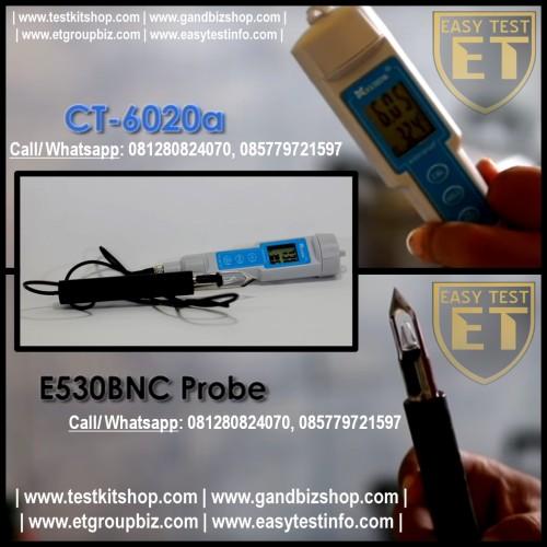 Foto Produk pH Meter Digital untuk Daging atau Buah Super MURAH dari easytest